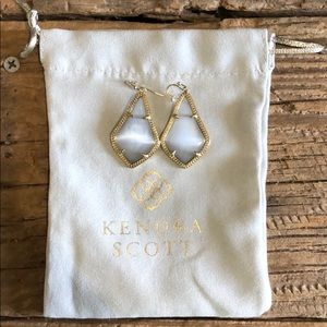 Grey Alex Kendra Scott Earrings